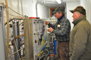 Dakin Farm Sugar Makers use Reverse Osmosis Machine.