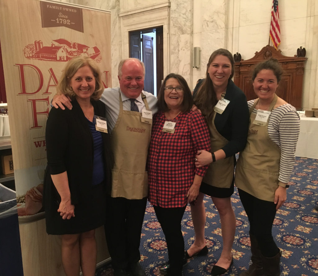Dakin Farm and Cabot Cheddar Representatives at the 2019 Taste of Vermont Reception